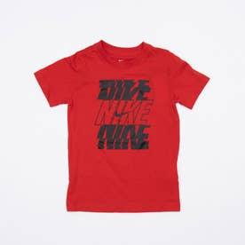 ジュニア 半袖Tシャツ YTH NSW スタック S/S Tシャツ DC7794657 (レッド)