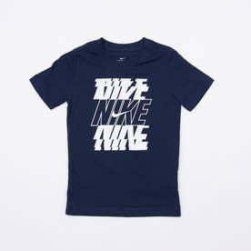 ジュニア 半袖Tシャツ YTH NSW スタック S/S Tシャツ DC7794411 (ネイビー)