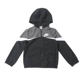 ジュニア ウインドジャケット YTH NSW ウーブン フーディ ジャケット DD8701010 (ブラック)