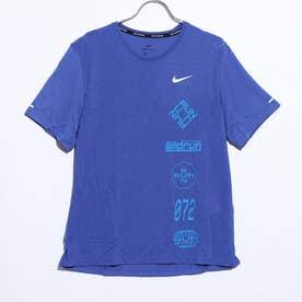 メンズ 陸上/ランニング 半袖Tシャツ DRI-FIT マイラー ウィンドランナー GX S/S トップ CU6039430 (ブルー)