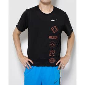 メンズ 陸上/ランニング 半袖Tシャツ DRI-FIT マイラー ウィンドランナー GX S/S トップ CU6039010 (ブラック)