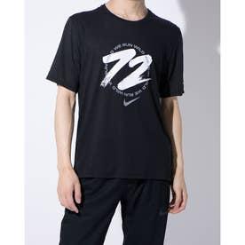 メンズ 陸上/ランニング 半袖Tシャツ DF マイラー WR GX S/S トップ CU5956010 (ブラック)