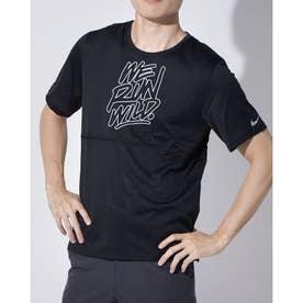 メンズ レディース 陸上/ランニング 半袖Tシャツ DRI-FIT BRTHE ラン ウィンドランナー S/S トップ CU6010010 (ブラック)