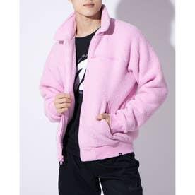 メンズ レディース フリースジャケット ナイキSB シェルパ L/S トップ CK5286629 (ピンク)