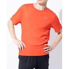 メンズ 陸上/ランニング 半袖Tシャツ ラン DVN S/S EMB マイラー CU7881673 (レッド)
