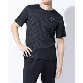 メンズ 陸上/ランニング 半袖Tシャツ ラン DVN S/S EMB マイラー CU7881010 (ブラック)