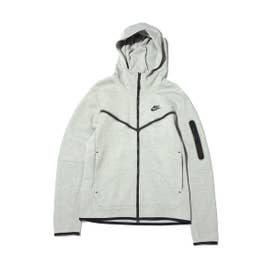 AS M NSW TCH FLC HOODIE FZ WR (GRAY)