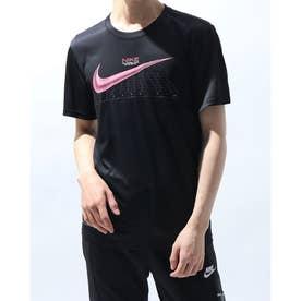 メンズ 半袖機能Tシャツ LEG シーズナル グラフィック 1 S/S Tシャツ DA0639010 (ブラック)