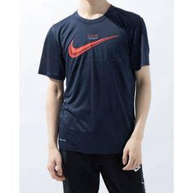 メンズ 半袖機能Tシャツ LEG シーズナル グラフィック 1 S/S Tシャツ DA0639451 (ネイビー)