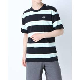 メンズ 半袖Tシャツ ナイキSB YD ストライプ S/S Tシャツ DD1321-010 (ブラック)