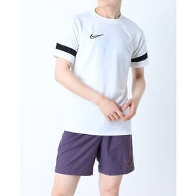 メンズ サッカー/フットサル 半袖シャツ アカデミー21 S/S トップ CW6102100 (ホワイト)