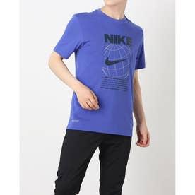 メンズ 半袖機能Tシャツ DFC グラフィック 6/1 S/S Tシャツ DA1773-430 (ブルー)