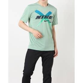 メンズ 半袖機能Tシャツ DRI-FIT レッグ PX 2 SU21 S/S Tシャツ DA1792-006 (グリーン)
