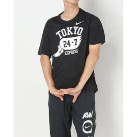 メンズ 陸上/ランニング 半袖Tシャツ GEL DRI-FIT マイラー S/S トップ DA1489010 (ブラック)