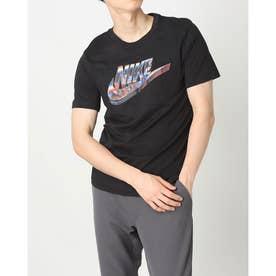 メンズ 半袖Tシャツ NSW ワールド ワイド ハイブリッド S/S Tシャツ DJ1370010 (ブラック)