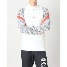 メンズ サッカー/フットサル ジャージジャケット ストライク21 L/S ドリル トップ CW5857101 (ホワイト)