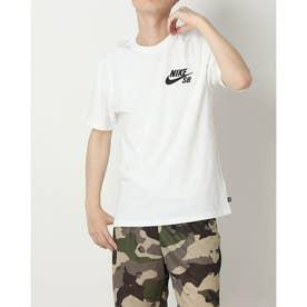 メンズ 半袖Tシャツ ナイキSB ロゴ S/S Tシャツ DC7818100 (ホワイト)
