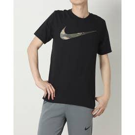 メンズ 半袖機能Tシャツ DF カモ フィル グラフィック S/S Tシャツ DD6895010 (ブラック)
