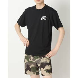 メンズ 半袖Tシャツ ナイキSB ロゴ S/S Tシャツ DC7818010 (ブラック)
