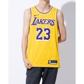 バスケットボール ノースリーブシャツ LAL スウィングマン ジャージ アイコン 20 CW3669734 (イエロー)