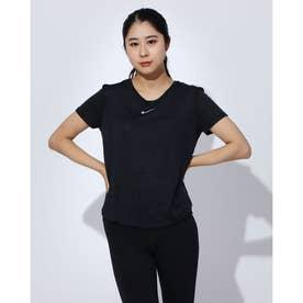 レディース フィットネス 半袖Tシャツ ウィメンズ ランウェイ S/S トップ CU3226010 (ブラック)