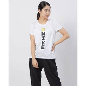 レディース 陸上/ランニング 半袖Tシャツ ウィメンズ アイコンクラッシュ ラン S/S GX CU3051100 (ホワイト)