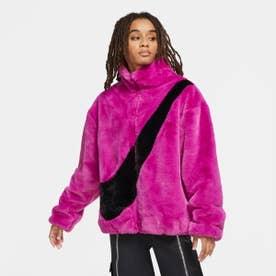 レディース フリースジャケット ウィメンズ ジャケット プラッシュ CU6559564 (ピンク)