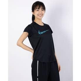 レディース 陸上/ランニング 半袖Tシャツ ウィメンズ アイコン クラッシュ ラン GX S/S トップ CZ9546010 (ブラック)