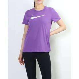 レディース 半袖機能Tシャツ ウィメンズ DRI-FIT DFC クルー Tシャツ AQ3213-528 (パープル)