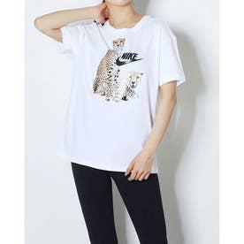 レディース 半袖Tシャツ ウィメンズ NSW ボーイ フィアス S/S Tシャツ DD1486-100 (ホワイト)