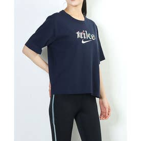 レディース 半袖Tシャツ ウィメンズ NSW ボクシー ネイチャー S/S Tシャツ DD1457-451 (ネイビー)