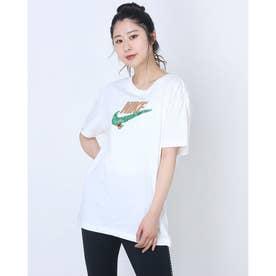 レディース 半袖Tシャツ ウィメンズ NSW ボーイ ネイチャー S/S Tシャツ DD1473-100 (ホワイト)