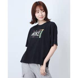 レディース 半袖Tシャツ ウィメンズ NSW ウォッシュ S/S Tシャツ DD1234-010 (ブラック)