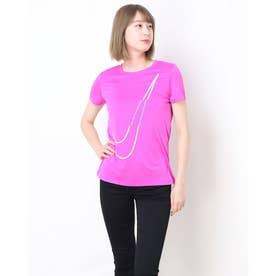 レディース Tシャツ AS W NK DRY TEE LEG GET OU (ファイアピンク)