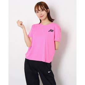 レディース 陸上/ランニング 半袖Tシャツ ウィメンズ GEL DRI-FIT マイラー S/S トップ DA1488600 (ピンク)
