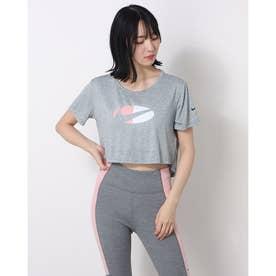 レディース 半袖機能Tシャツ ウィメンズ ワン DF CLRBLK S/S トップ STD C DD4558073 (グレー)