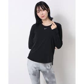 レディース 長袖機能Tシャツ ウィメンズ ワン LUXE DF STD L/S トップ DD0621010 (ブラック)
