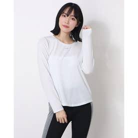 レディース 長袖機能Tシャツ ウィメンズ ワン LUXE DF STD L/S トップ DD0621100 (ホワイト)