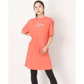 レディース ワンピース ウィメンズ NSW フューチュラ S/S ドレス DD5783814 (ピンク)