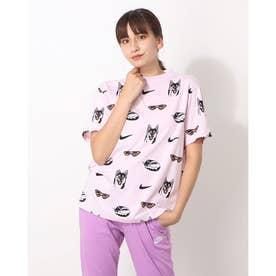 レディース 半袖Tシャツ ウィメンズ NSW BF ドッグ S/S Tシャツ AOP DJ1833695 (ピンク)