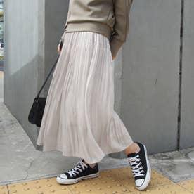 シャイニーサテンスカート (28オフホワイト)