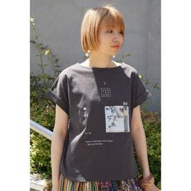 プリントTシャツ (39チャコールグレー)