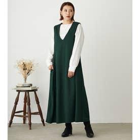 カットソージャンパースカート (40グリーン)