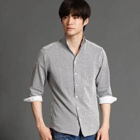 イタリアンカラ-7分袖シャツ (91その他2)