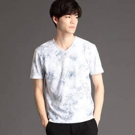 ボタニカルフォイルプリントTシャツ (91その他2)