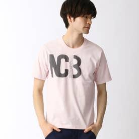 ロゴプリントTシャツ (08ピンク)