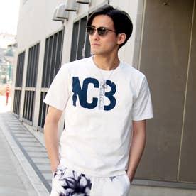 ロゴプリントTシャツ (09ホワイト)