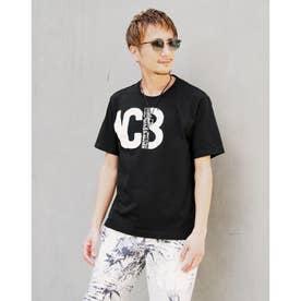 ロゴプリントTシャツ (49ブラック)