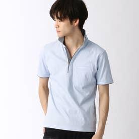 スキッパ-ポロシャツ (64サックス)