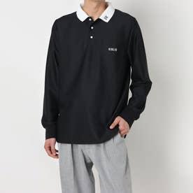 ニブリック NIBLIC メンズポロシャツ(長袖) (BL)